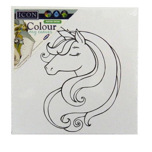 Colour My Canvas Picture - Unicorn