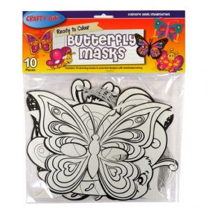 Ready to Colour Butterfly Masks