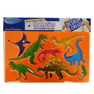 Stencil Pack Dinosaurs