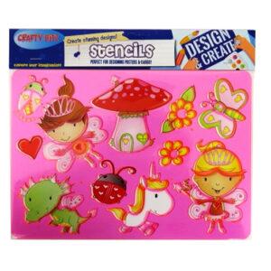 Stencil Pack Fairy World
