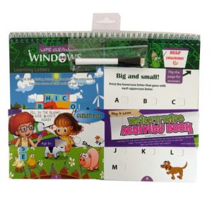 Write n Wipe, Play and Learn Activity Book