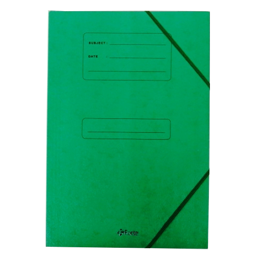 A4+ Subject Document Storage Wallets - Pack of 5