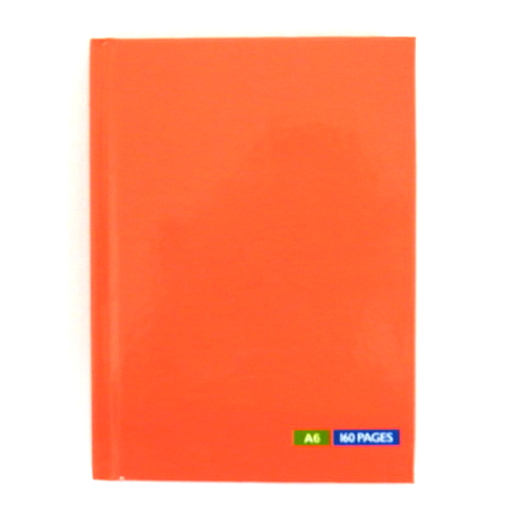 A6 Hardcover Tang Peach Notebook