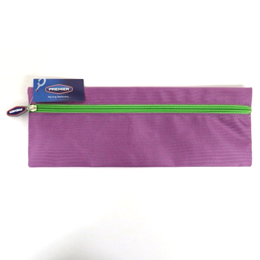 Xtreme Bright Strong Fabric 30cm Pencil Case Purple