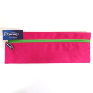 Xtreme Bright Strong Fabric 30cm Pencil Case Pink