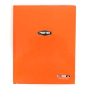 A5 Hardcover Tang Orange Notebook