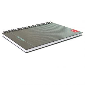 A5 Hard Cover Wirebound Notebook, Capital
