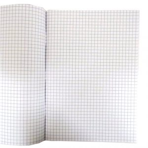 A4 Maths 7mm Square Lined Exercise Notebook Open