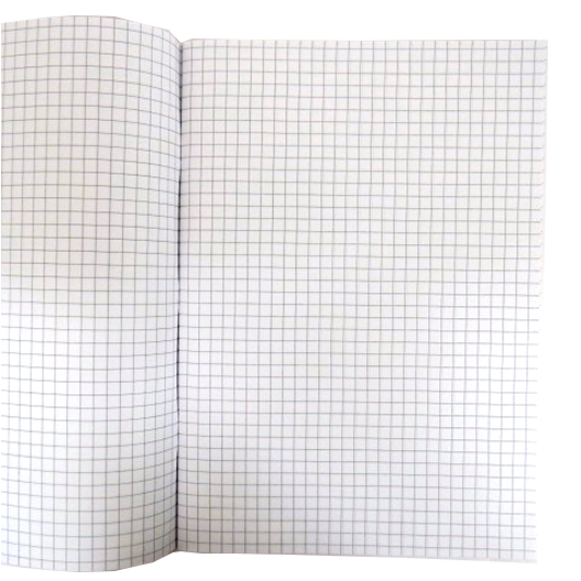 A4 Maths 7mm Square Lined Exercise Notebook