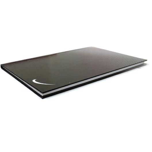 A4 Premier Curve Writing Notebook - Black
