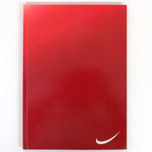 A4 Premier Curve Writing Notebook - Red