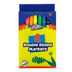 Grafix Double Ended Colouring Markers