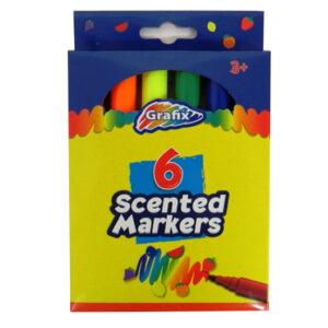 Grafix Scented Fun Colouring Markers