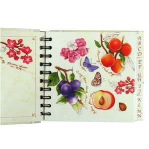 Decorative A-Z Address Book - Natures Charm