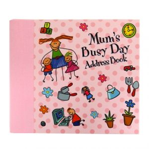 Decorative A-Z Address Book - Mums Busy Day