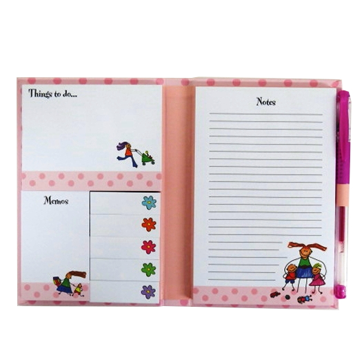Stylish Sticky Notes Folder - Mums Busy Day