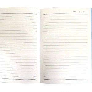 A5+ Decorative Journal Notebook, Elastic Closure - Natures Charm