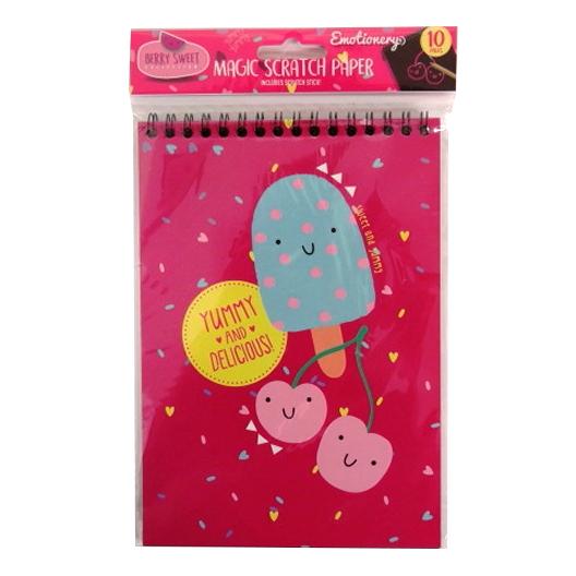 Berry Sweet Magic Scratch Paper Notebook