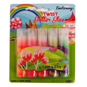 Emotionery Twist Glitter Glues