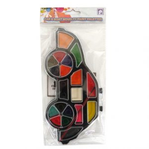Childrens Novelty Painting Palette - Car