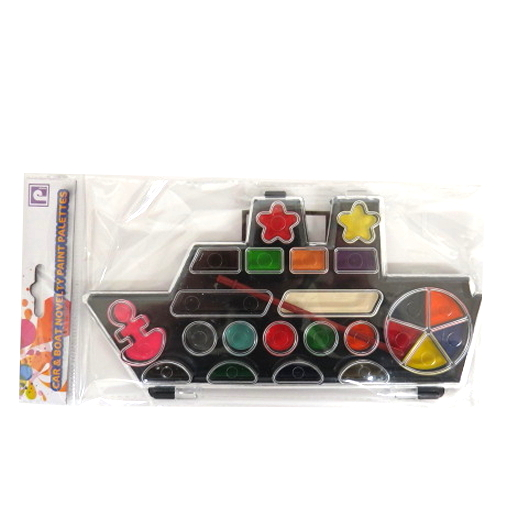 Childrens Novelty Painting Palette - Boat