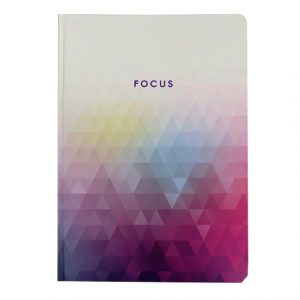 A4 METALLIC DREAMS INSPIRATIONAL NOTEBOOK - FOCUS - R04-0083