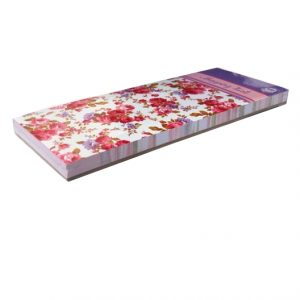 Magnetic Shopping List Victoriana Sweet Posy Angle