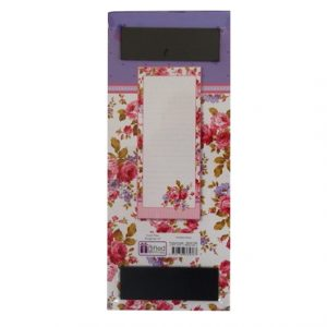 Magnetic Shopping List Victoriana Sweet Posy Front 2