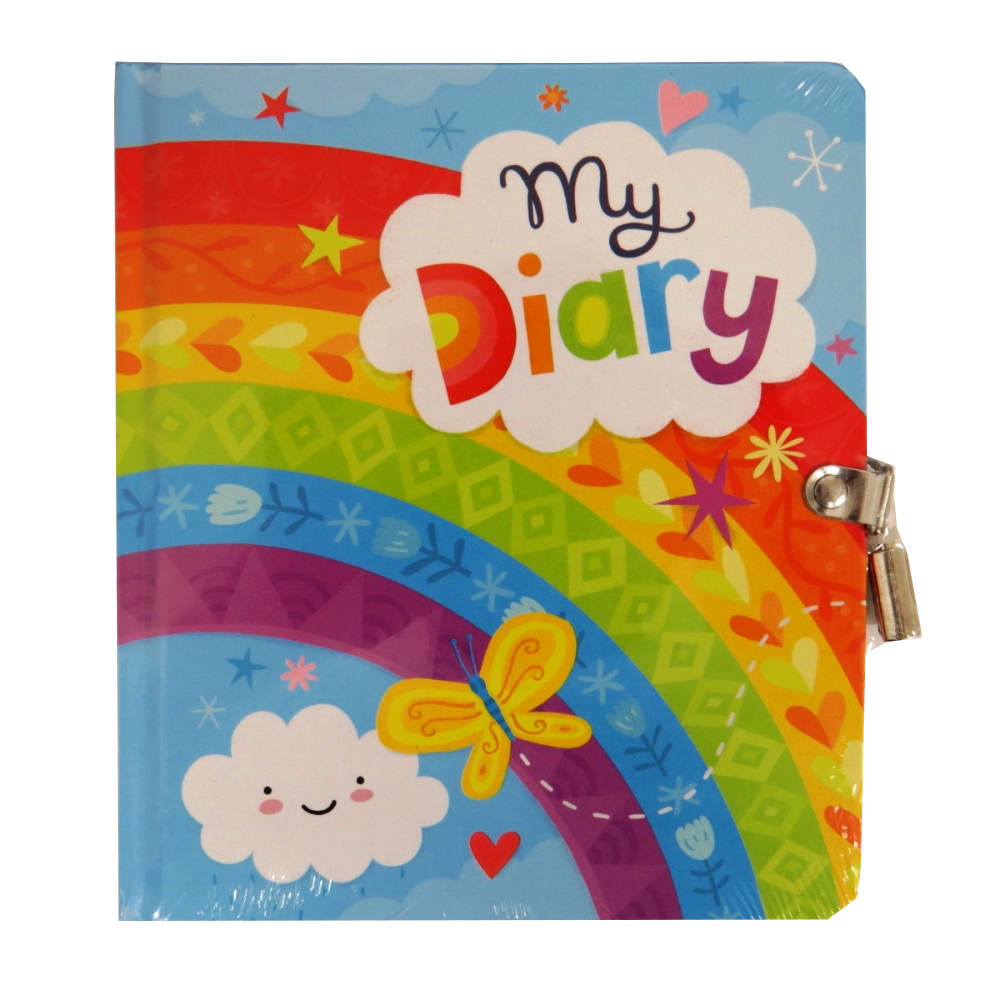 Secret Diary, Hardcover - My Diary, Rainbow