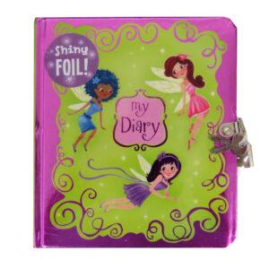 Secret Diary, Hardcover - Shiny Foil Fairies