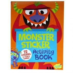 Peaceable Kingdom Monster Sticker and Activity Book