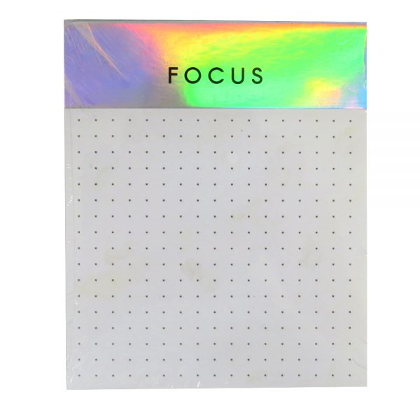 Metallic Dreams Tear Off Memo Pad - Focus