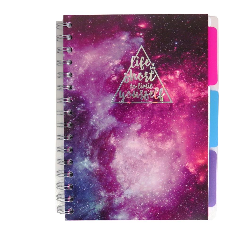 A5 Metallic Dreams Project Notebook