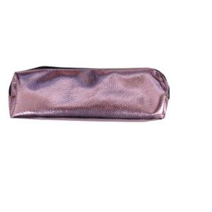 Metallic Dreams Fabric Pencil Case - Metallic Pink
