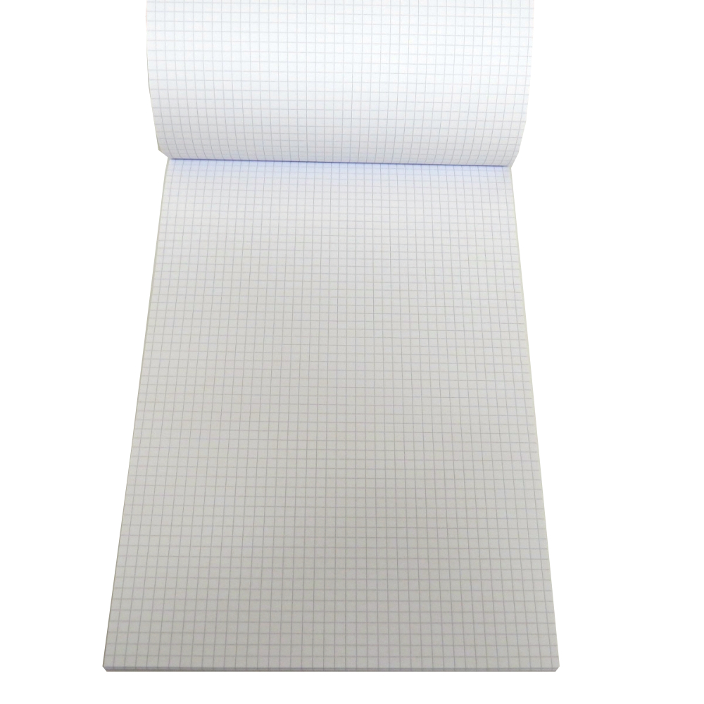Oxford A4 Refill Writing Notepad - 5mm Graph Ruled