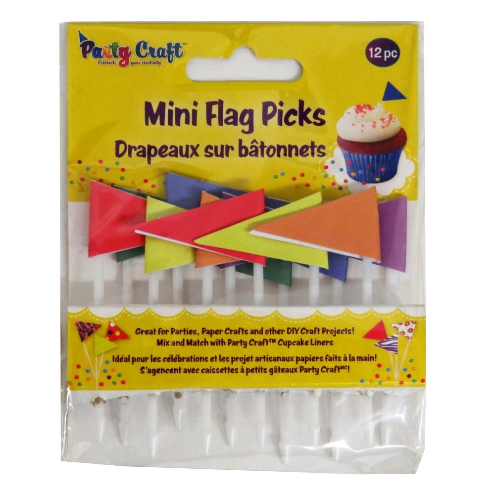 Party Craft PC240D Mini Decorative Flags