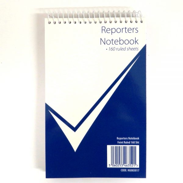 Nuco Reporters Wirebound Notebook, 320 Pages