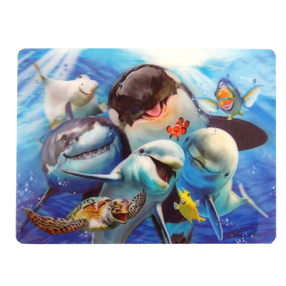 Howard Robinson Super 3D Moving Postcard, Ocean Selfie