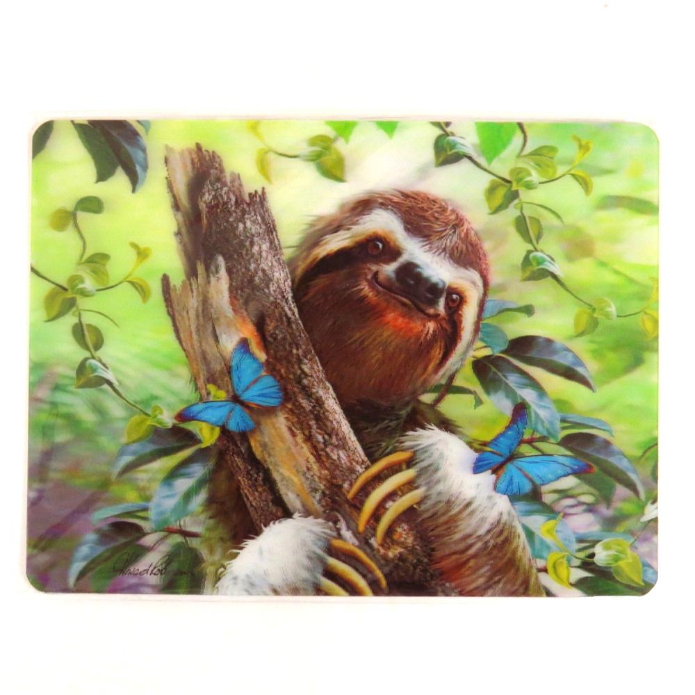 Howard Robinson Super 3D Moving Postcard, Sloth
