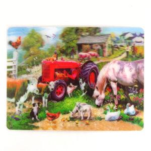 Howard Robinson Super 3D Moving Postcard, Meadow Farm