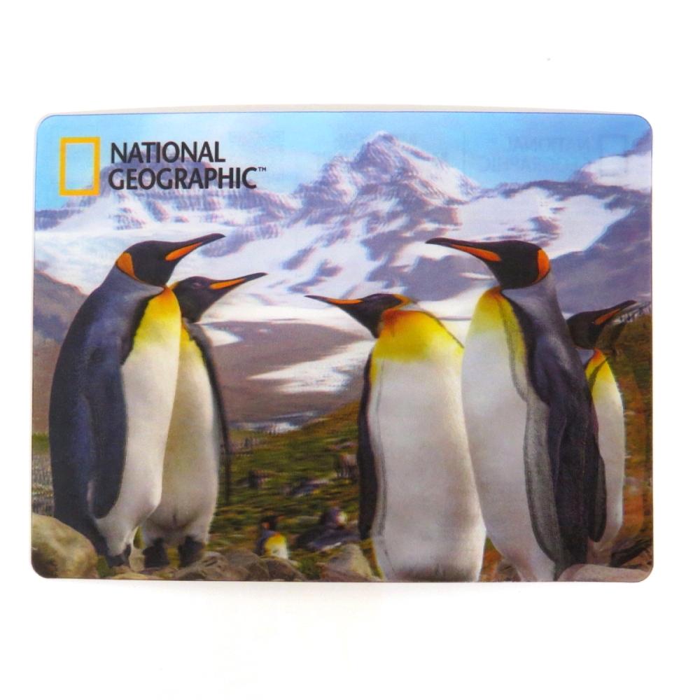 National Geographic Super 3D Moving Postcard, Emperor Penguin