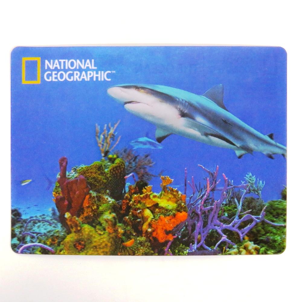 National Geographic Super 3D Moving Postcard, Shark