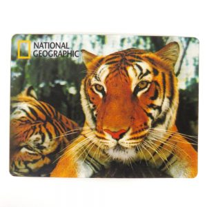 National Geographic Super 3D Moving Postcard, Tigers