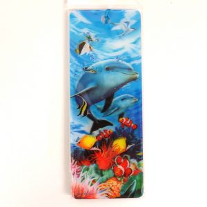 Howard Robinson Super 3D Moving Bookmark, Beneath The Waves
