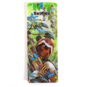 Howard Robinson Super 3D Moving Bookmark, Sloth Selfie