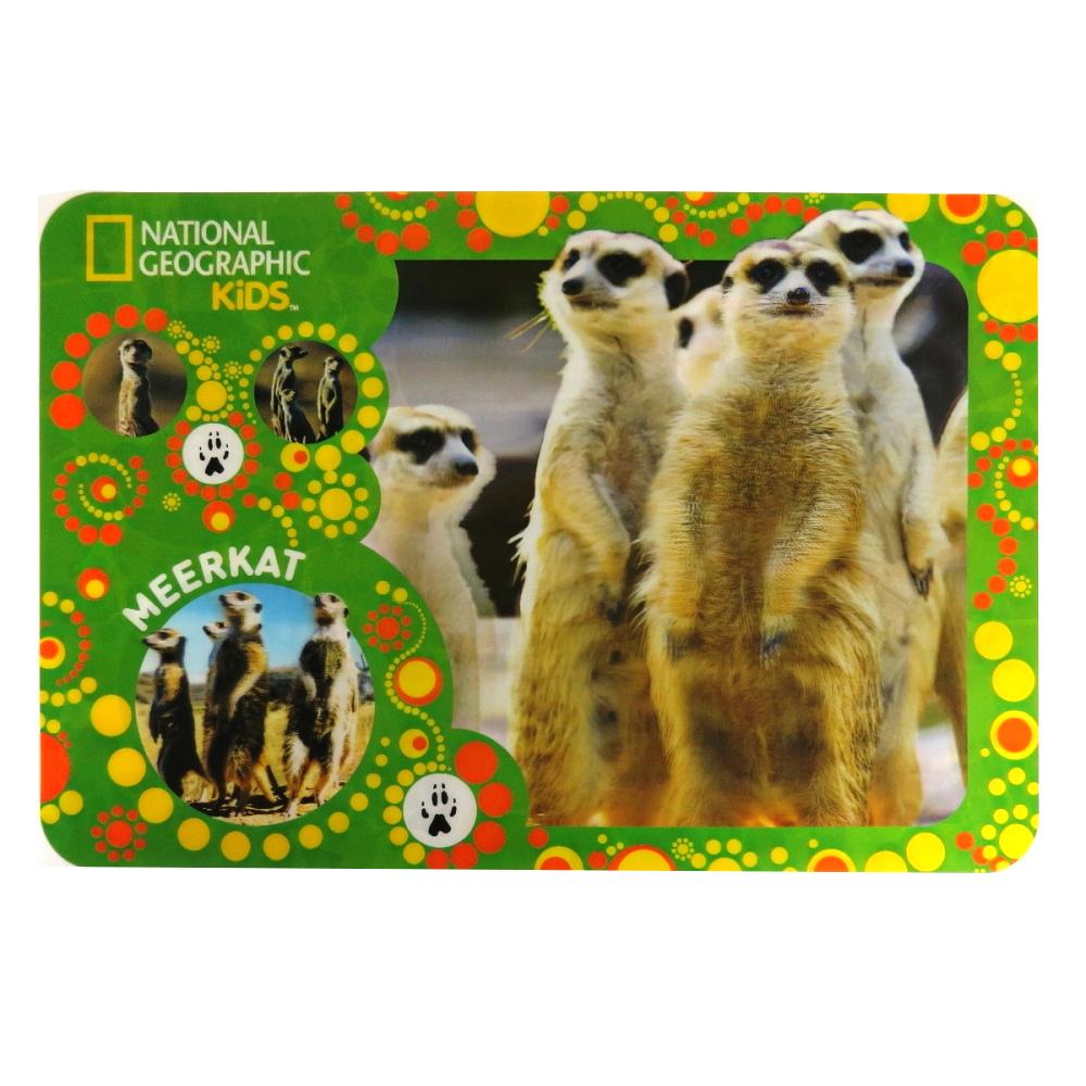 Super 3D Moving Animal Placemat, Meerkats