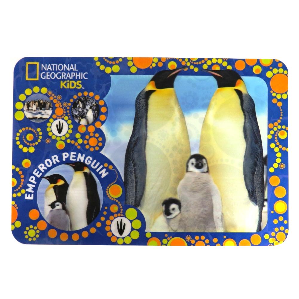 Super 3D Moving Animal Placemat, Emperor Penguins