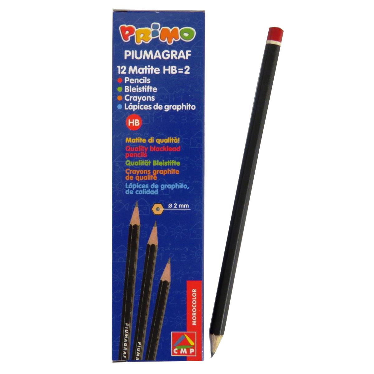 Primo Italy Quality HB Black Lead Pencils