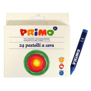 Primo Italy Wax Coloured Crayons, 100mm