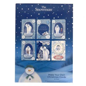 The Snowman Make Your Own Christmas Cards Front